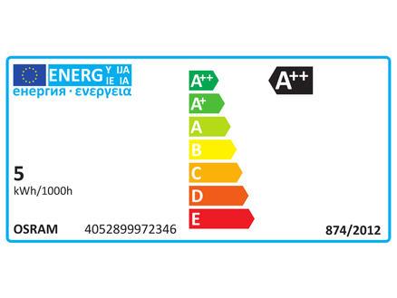 Osram Ampoule LED Edison E27 4W