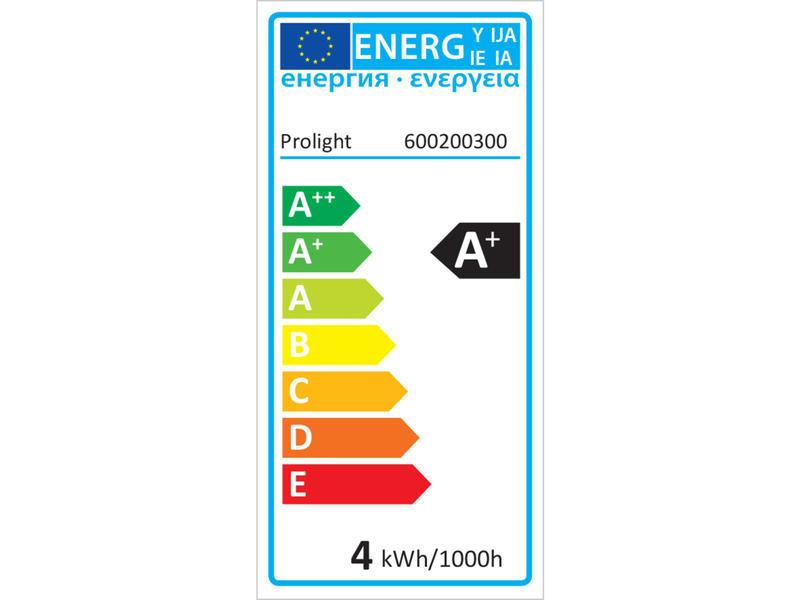 Prolight Classic LED peerlamp filament E27 3,7W
