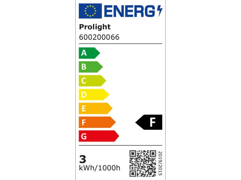 Profile LED kogellamp E14 3W