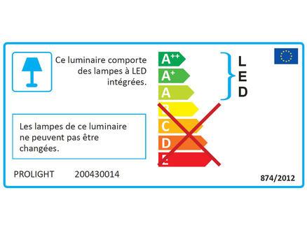 Prolight Réglette LED 14W 1200mm