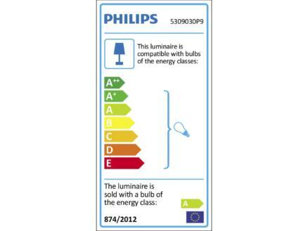 Philips Hue Runner LED wandspot GU10 5,5W zwart