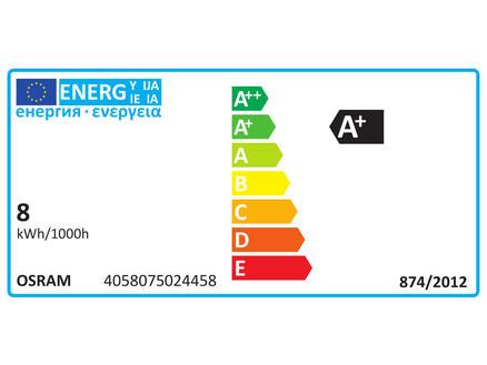 Osram Substitube Star tube LED T8 8W 600mm blanc froid