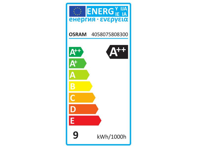 Osram Superstar Classic 75 LED peerlamp filament melkwit E27 8,5W dimbaar