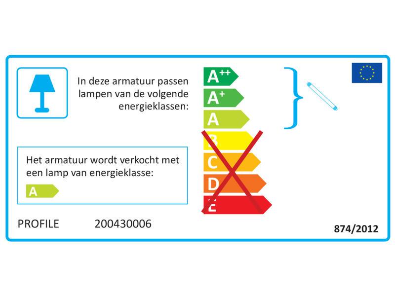 TL-armatuur T8 G13 2x58W waterdicht
