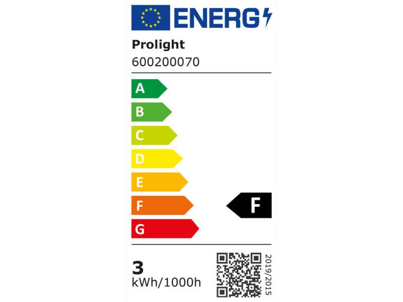 Prolight ampoule LED sphérique opalin E27 3W