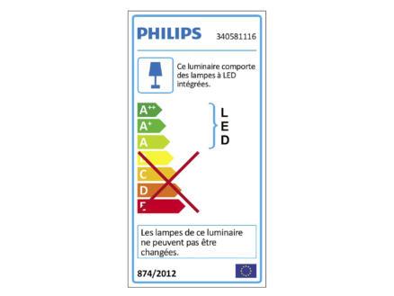 Philips myBathroom Fit applique murale LED 2x2,5W chorme