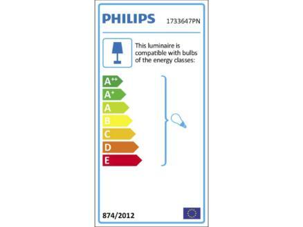 Philips myGarden Chipmunk wandlamp E27 max. 42W inox