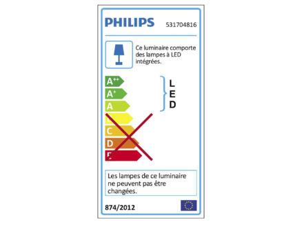 Philips myLiving Clockwork spot mural LED 4,5W dimmable aluminium