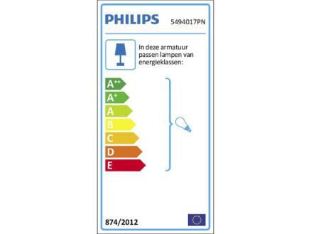 Philips myLiving Comet wandspot GU10 max. 50W dimbaar mat chroom