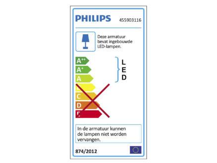 Philips myLiving Galax LED wandlamp 2x2,5W wit