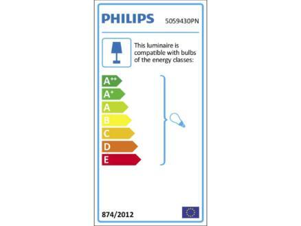 Philips myLiving Kosipo barre de spots GU10 max. 4x10W dimmable noir