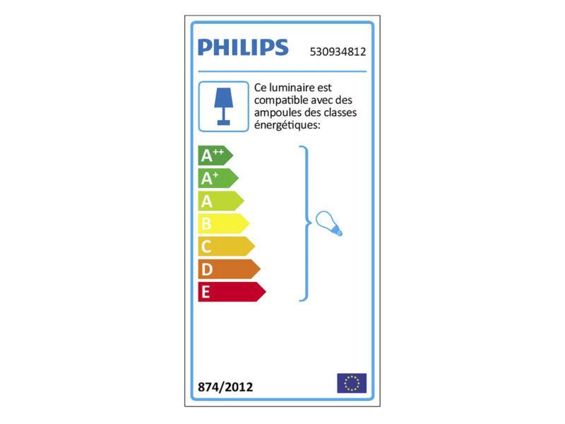 Philips myLiving Runner barre de spots GU10 max. 3x50W aluminium