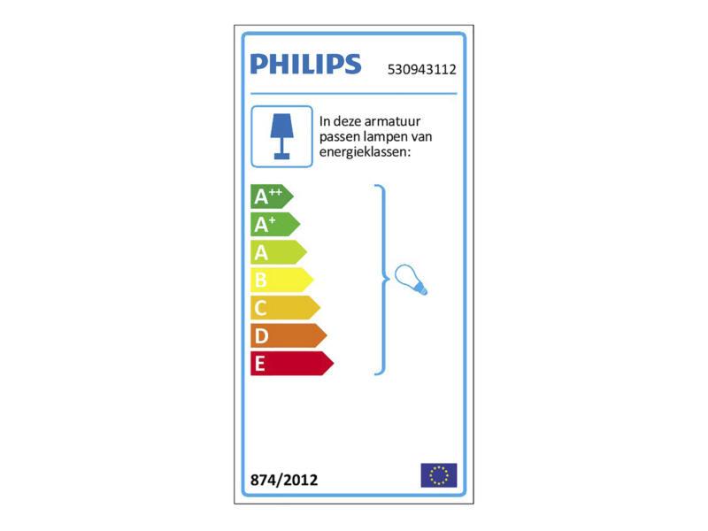 Philips myLiving Runner plafondspot GU10 max. 4x50W dimbaar wit