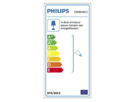 Philips myLiving Runner wandspot GU10 max. 50W dimbaar aluminium