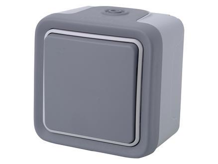 Legrand 2-polige schakelaar Plexo grijs