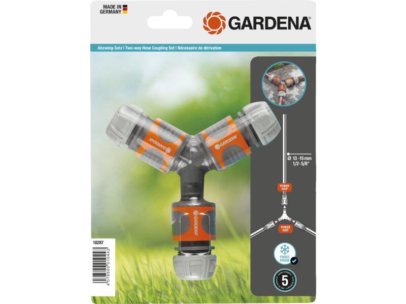 Gardena 2-wegs set 13-15 mm (1/2