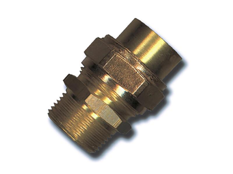 Saninstal 3-delige koppeling M 3/8