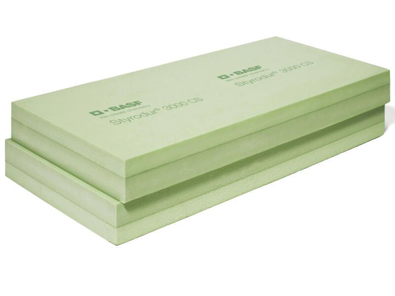 Styrodur 3000 CS isolatieplaat 125x60x4 cm 1,2m²