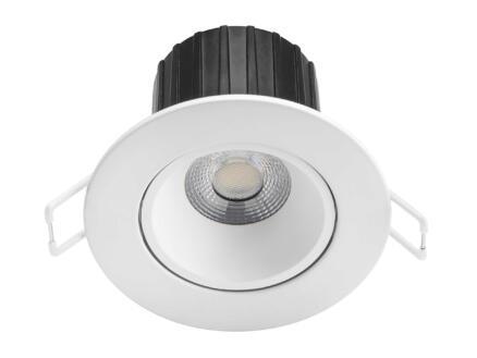 Philips Abrosa spot LED encastrable réflecteur 9W blanc