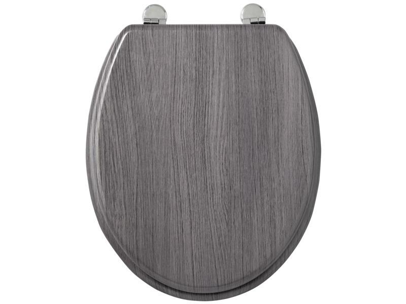 Allibert Academy abattant WC gris