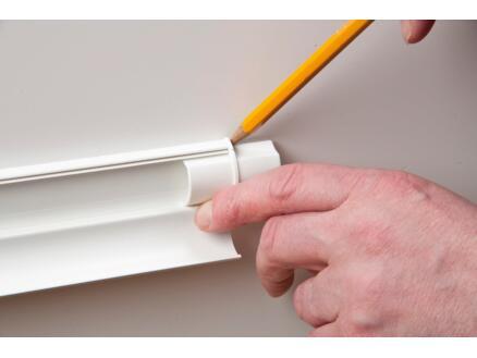 D-Line Accessoires goulottes multipack 16x8 mm blanc