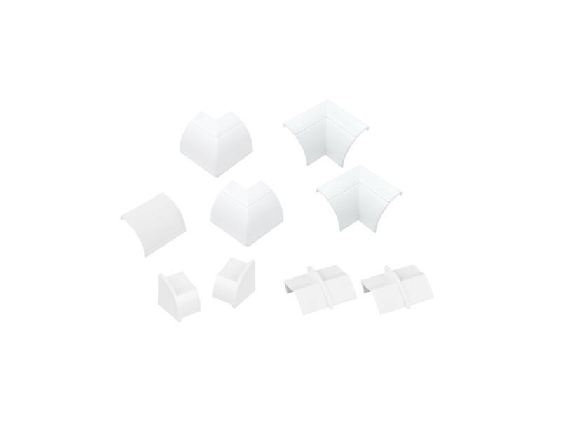 D-Line Accessoires goulottes multipack 22x22 mm blanc