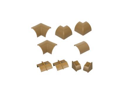 D-Line Accessoires goulottes multipack 22x22 mm bois