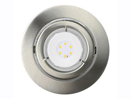 Jedi Adjust spot LED encastrable 6,8W nickel