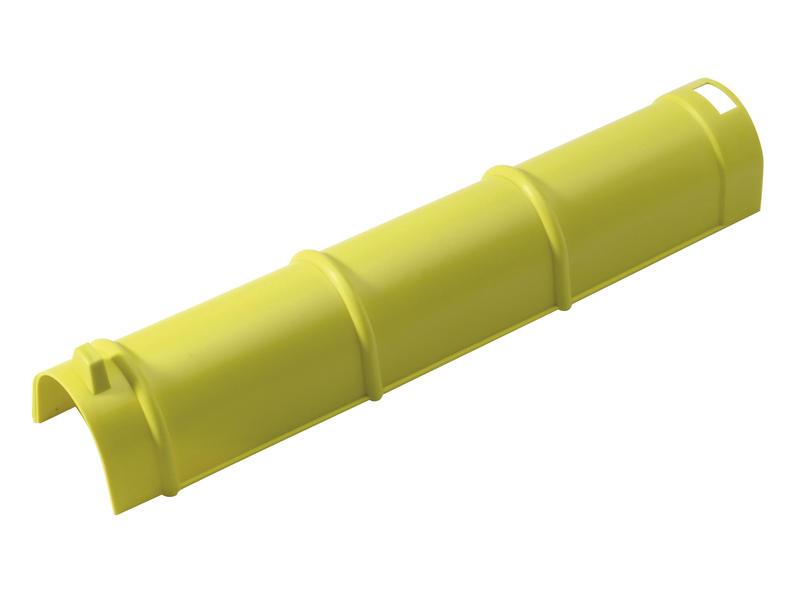 Afdekpan kabel geel 5 stuks