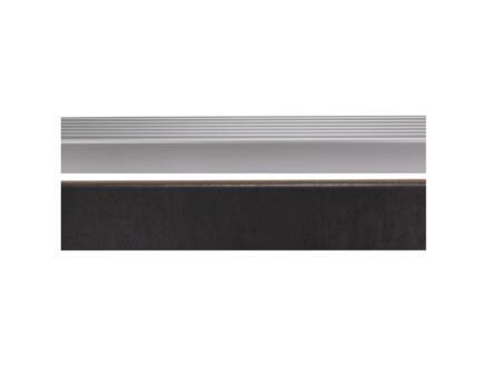 CanDo Afwerkprofiel 130x5 cm beton antraciet