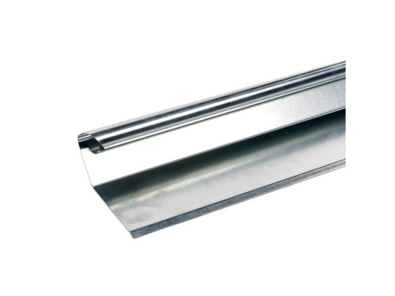 Afwerkprofiel type A3 0,7mm zink