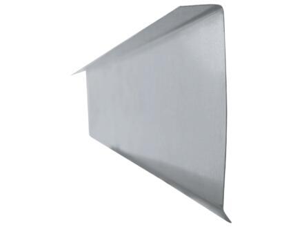Afwerkprofiel type F 0,7mm zink