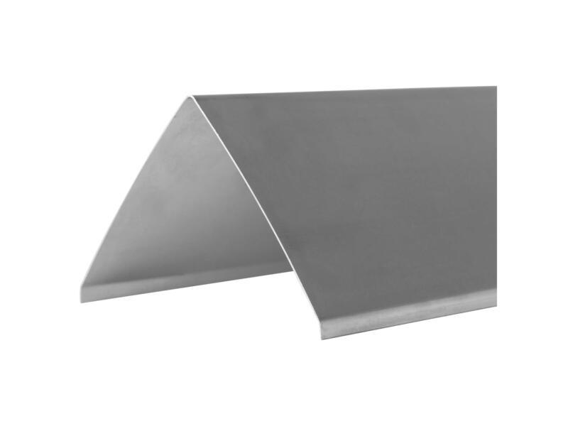Afwerkprofiel type G 0,7mm zink