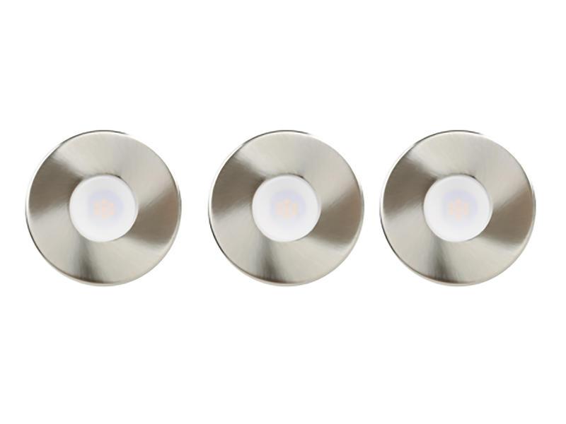 Jedi Alpha spot LED encastrable 5W nickel
