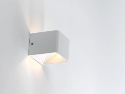 MEO Amalfi wandlamp 180lm 5W wit