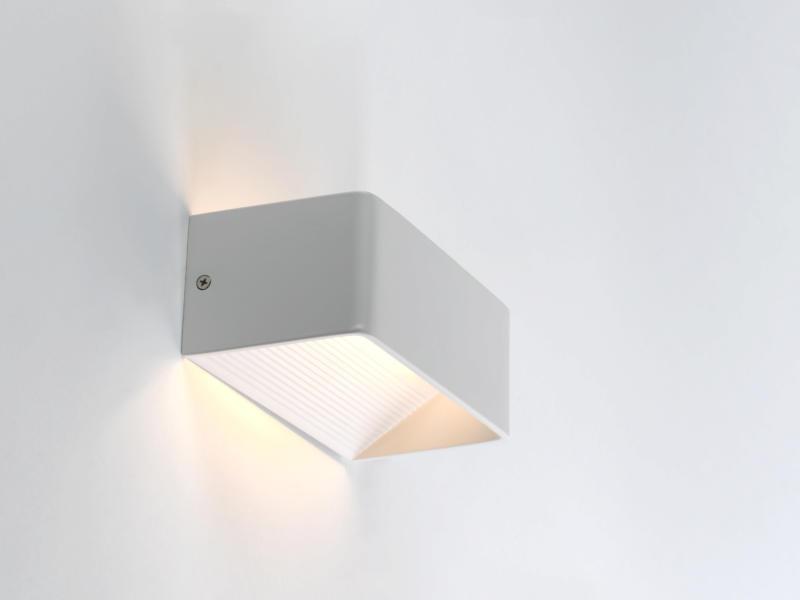 MEO Amalfi wandlamp 470lm 6W wit