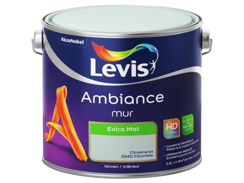 Levis Ambiance muurverf extra mat 2,5l citroengras