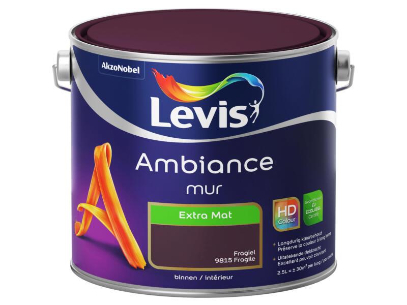 Levis Ambiance muurverf extra mat 2,5l fragiel