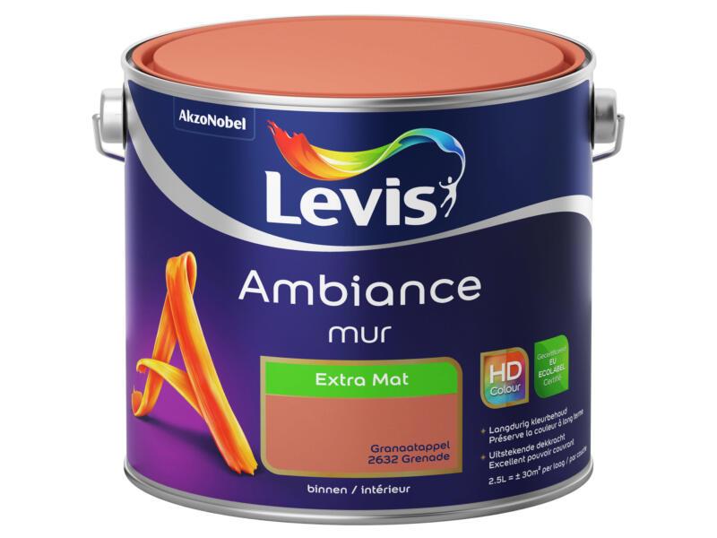 Levis Ambiance muurverf extra mat 2,5l granaatappel