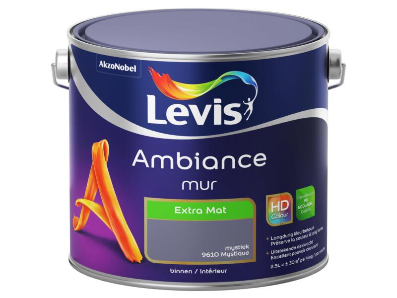 Levis Ambiance muurverf extra mat 2,5l mystiek