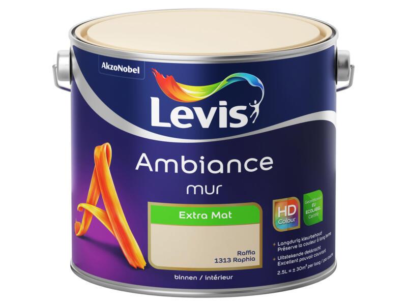 Levis Ambiance muurverf extra mat 2,5l raffia