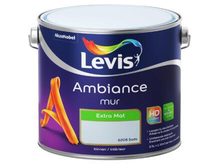 Levis Ambiance muurverf extra mat 2,5l soda