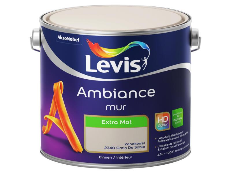 Levis Ambiance muurverf extra mat 2,5l zandkorrel