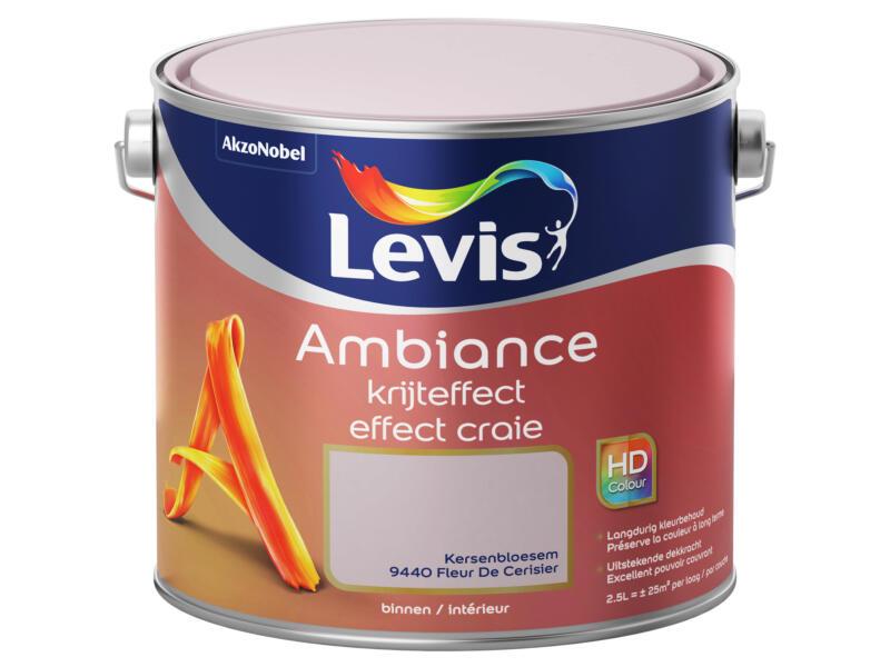 Levis Ambiance muurverf krijteffect 2,5l kersenbloesem