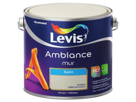 Levis Ambiance muurverf zijdeglans 2,5l artisjok
