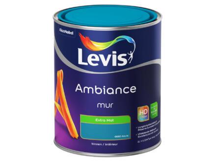 Levis Ambiance peinture murale extra mat 1l azura