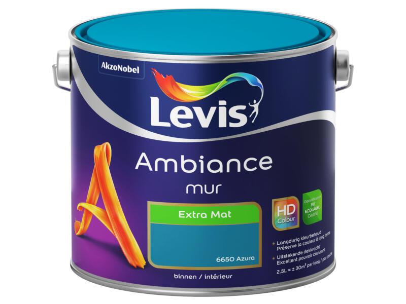 Levis Ambiance peinture murale extra mat 2,5l azura
