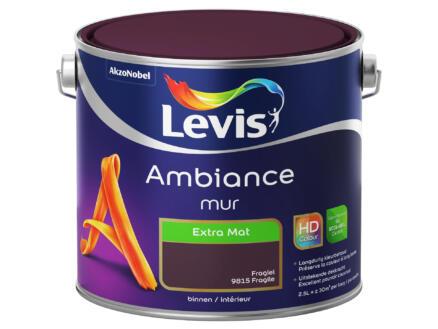 Levis Ambiance peinture murale extra mat 2,5l fragile