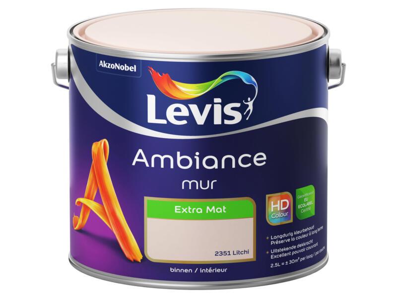 Levis Ambiance peinture murale extra mat 2,5l litchi