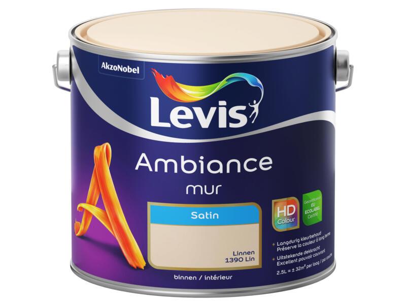 Levis Ambiance peinture murale satin 2,5l lin